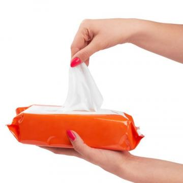 Non-Alcoholic Cleaning Baby Wet Wipe