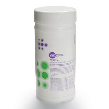 Effective Sterilization Household Disinfectant Disposable Wipes Packed in Canister 75% Alcohol Wet Antibacterial Disinfectant Cleaning Wipes 80PCS