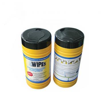 Oil absorbent barrel industrial wet wipes disinfectant sanitizing industrial scrubbing wipes