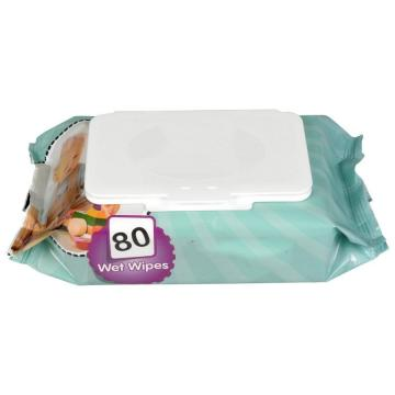 OEM 80 count in bag non-woven kill germ wipe wet Wipes for US/EU market