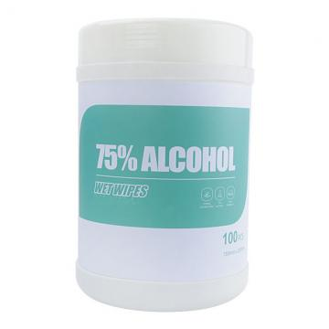 OEM Available Ce FDA 75% Alcohol Disinfection Sanitizer Wipes