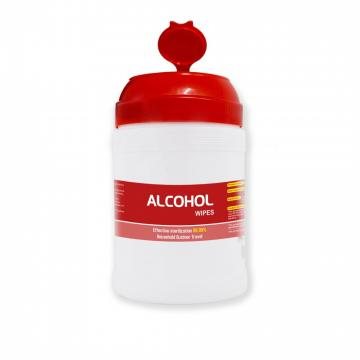 OEM Custom Private Label CE Cleaning Sanitizer Antibacterial Medical Surface Hand Disinfectant Wet 75% Alcohol Wipes