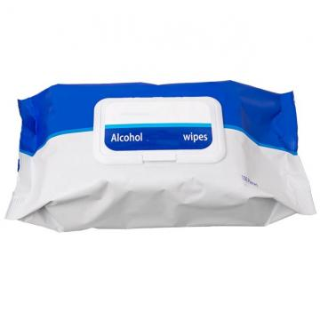 Non-Alcoholic Hot Sell Wholesale Big Pack Pearl Embossed Non-Woven Wet Wipes, Baby Wipes (BW-0202)