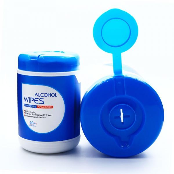 High Effective Fast Delivery 75% Alcohol Wet Wipes Disinfectant Hand Sanitizer Wipes #1 image
