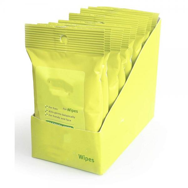 OEM Custom Design Cleaning Wipes Disinfectant Alcohol Wipes #1 image
