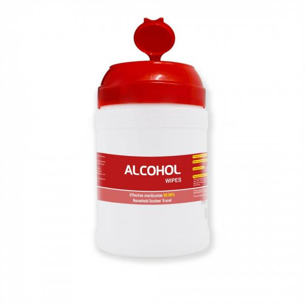 50 pcs/pack of stock can be customized antiseptic wet wipes, office and home 75% alcohol wipes #1 image