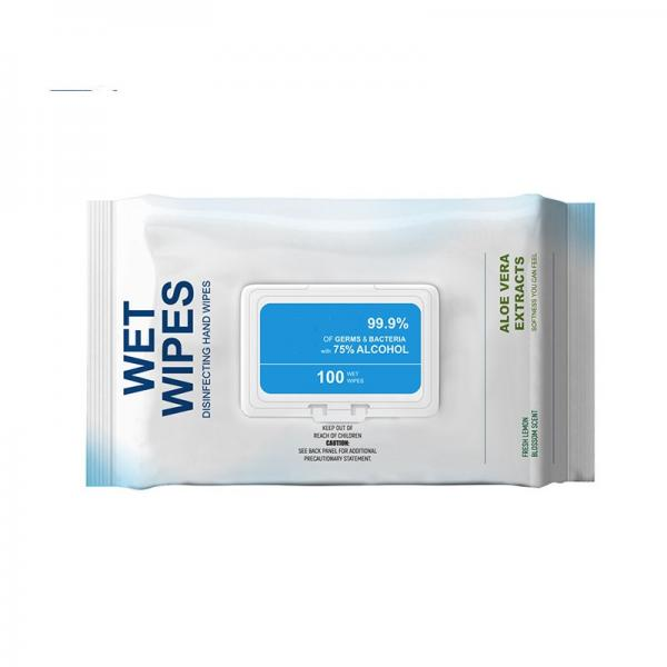 High quality and low price 75% alcohol wipes #1 image