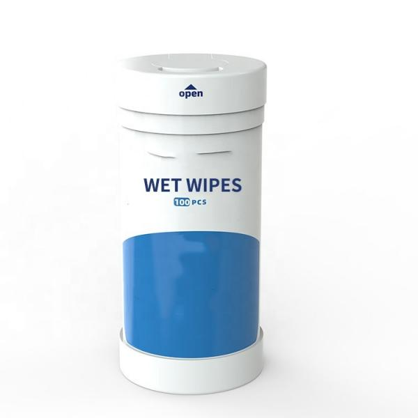 Anti-Bacteria High-Capacity Family Adult Alcohol Cleaning Wipes #3 image
